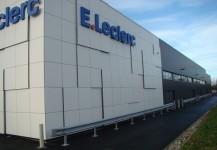 Extension centre E. Leclerc à Etalondes