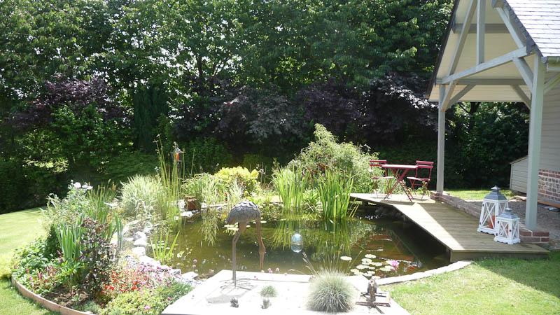 Plans d eau bassins d ornement a r h tp - Bassin d eau jardin ...