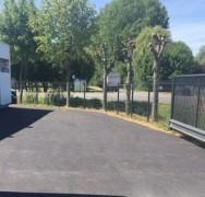 Aménagement parking en enrobés Eudiff à Dieppe
